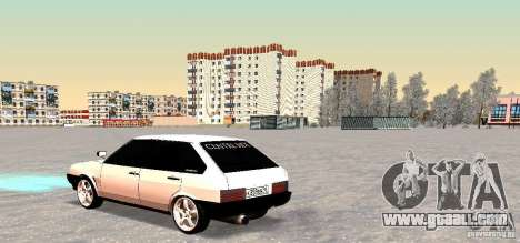 VAZ-2109i Centre Side for GTA San Andreas back view