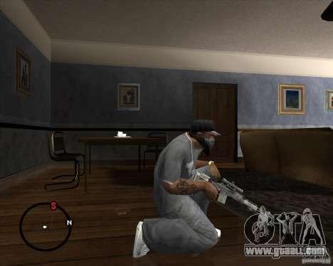 M14 EBR for GTA San Andreas second screenshot