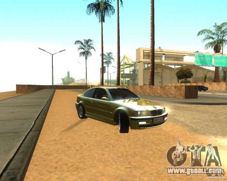 BMW 318i E46 2003 for GTA San Andreas back left view
