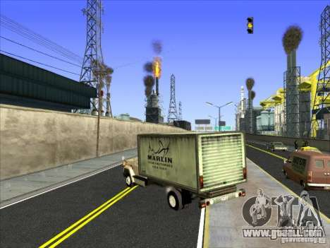 Yankee based on GMC for GTA San Andreas right view