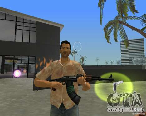 AKS-74 for GTA Vice City second screenshot