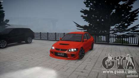 Mitsubishi Lancer Evolution 8 v2.0 for GTA 4