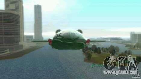 ThunderBird 2 for GTA Vice City left view