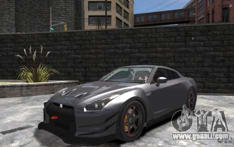 Nissan GT-R v1.1 Tuned for GTA 4