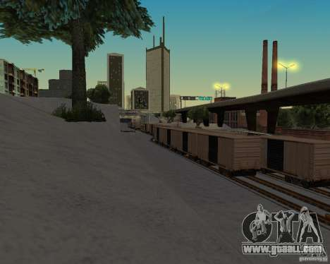 New railway station for GTA San Andreas