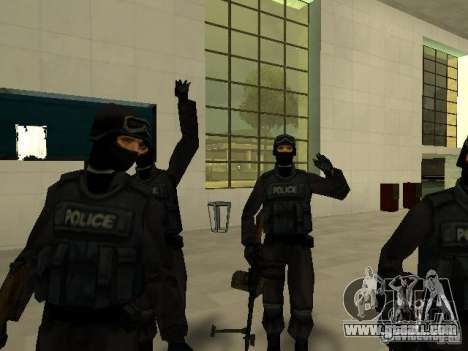 Help Swat for GTA San Andreas sixth screenshot
