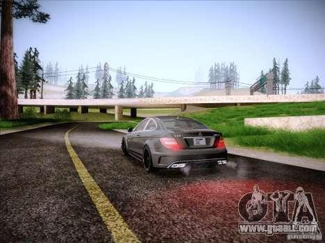Improved Vehicle Lights Mod for GTA San Andreas forth screenshot