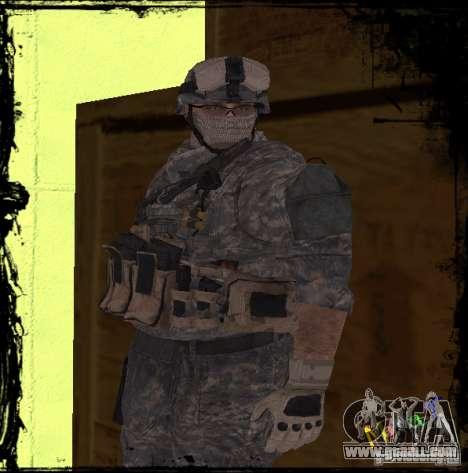 United States Infantryman for GTA San Andreas