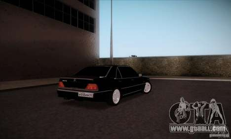Mercedes-Benz 600SEL AMG 1993 for GTA San Andreas back left view
