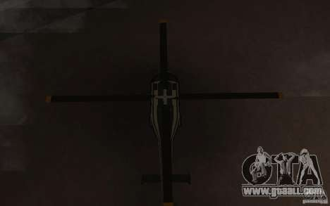 GTA IV Maverick for GTA San Andreas inner view