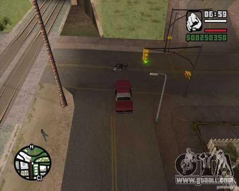 Camera as in GTA Chinatown Wars for GTA San Andreas second screenshot