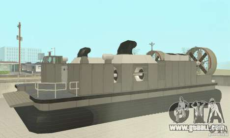 Landing Craft Air Cushion for GTA San Andreas