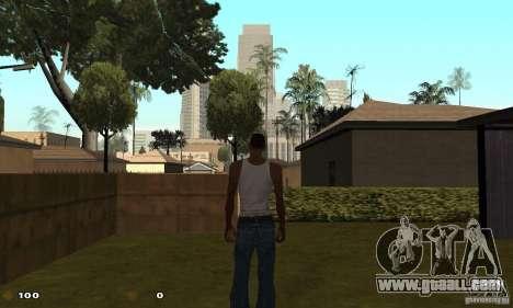 Cs 1.6 HUD for GTA San Andreas forth screenshot