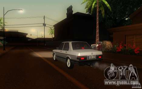 BMW E28 525e ShadowLine Stock for GTA San Andreas right view