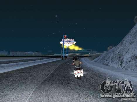 Snow for GTA San Andreas third screenshot