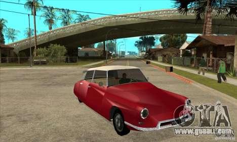 Citroen ID 19 for GTA San Andreas back view