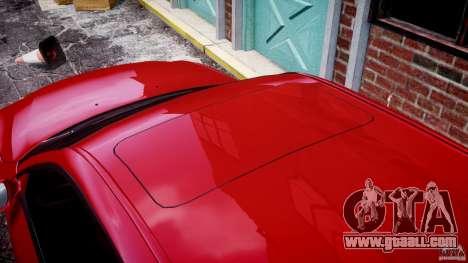 BMW M5 E60 2009 for GTA 4 interior