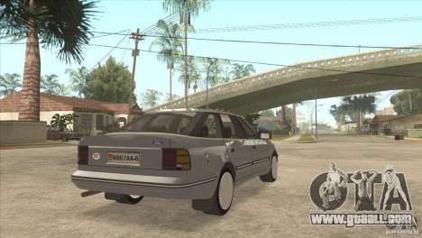 Ford Scorpio for GTA San Andreas left view
