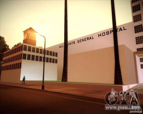 All Saints Hospital for GTA San Andreas third screenshot