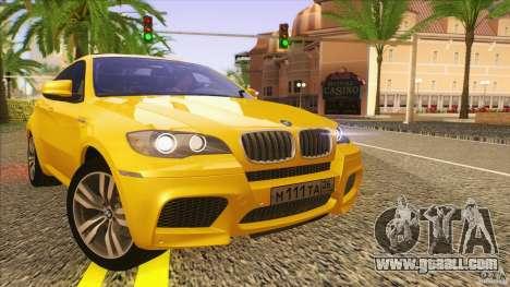 BMW X6M E71 v2 for GTA San Andreas