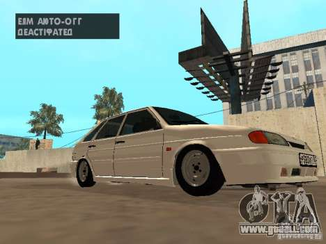 ВАЗ 2114 Drain for GTA San Andreas left view