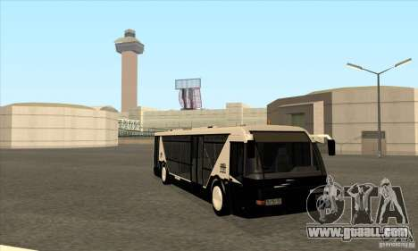 Neoplan Airport bus SA for GTA San Andreas back view