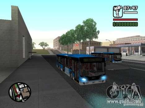 Design-X4-Dreamer for GTA San Andreas inner view