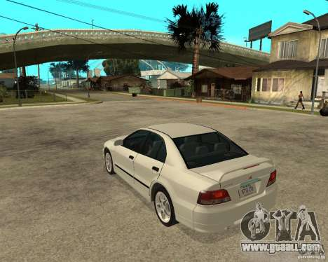 Mitsubishi Galant VR6 for GTA San Andreas left view