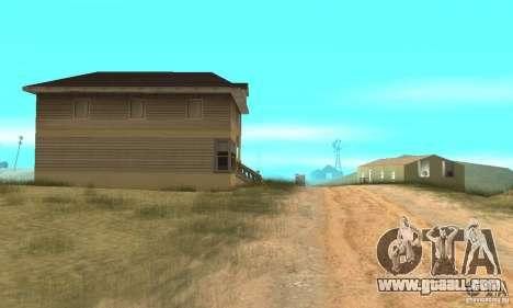 Area in the desert for GTA San Andreas third screenshot