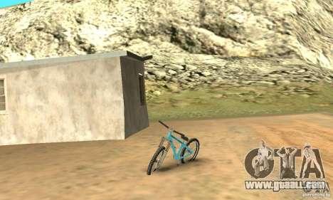 Dirt Jump Bike for GTA San Andreas left view