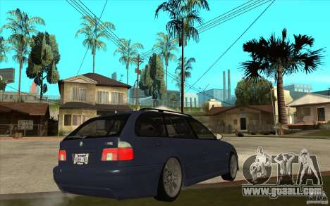 BMW M5 E39 530tdi Touring for GTA San Andreas right view