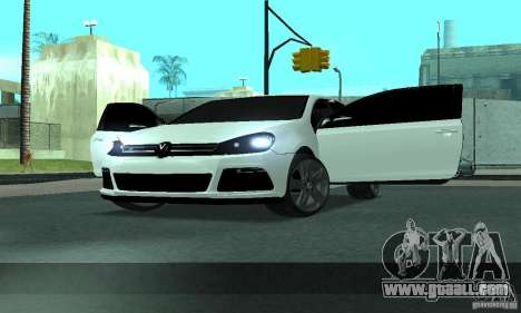 Volkswagen Golf R Modifiye for GTA San Andreas side view