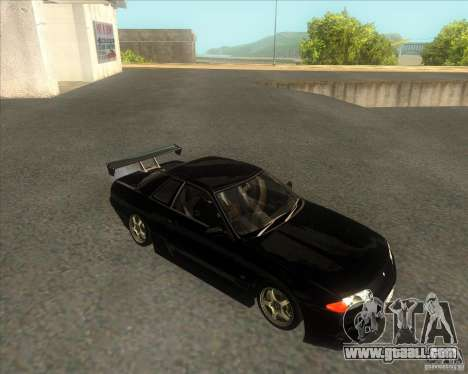 Nissan Skyline R32 GTS-T type-M for GTA San Andreas right view
