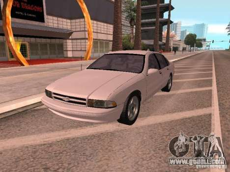 Chevrolet Impala SS 1995 for GTA San Andreas