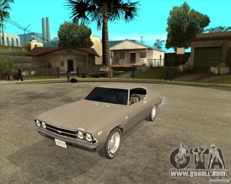 1969 Chevrolet Chevelle for GTA San Andreas