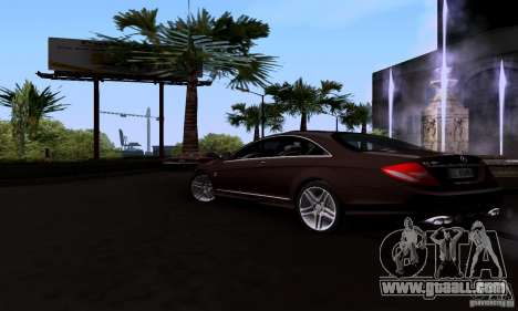 Mercedes-Benz CL65 AMG E.U. for GTA San Andreas left view