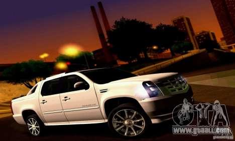 Cadillac Escalade Ext for GTA San Andreas right view