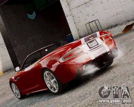 Aston Martin DBS Volante 2010 v1.5 Bonus Version for GTA 4 right view