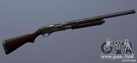 Remington 870AE Silver for GTA San Andreas forth screenshot