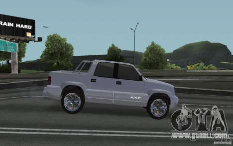 Cavalcade FXT from GTA 4 for GTA San Andreas back left view