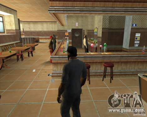Salierys Bar for GTA San Andreas eighth screenshot
