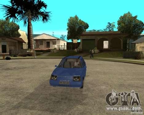 ZAZ 1103 Slavuta for GTA San Andreas back view
