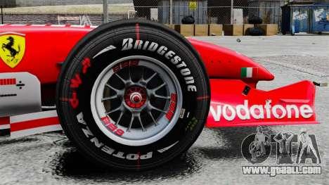 Ferrari F2005 for GTA 4 back view