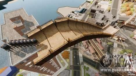 Bike Challenge track + Huge Ramp for GTA 4 third screenshot