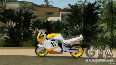 Suzuki GSX-R 750 1989 for GTA Vice City left view