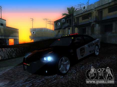 Dodge Charger SRT8 Police for GTA San Andreas back left view