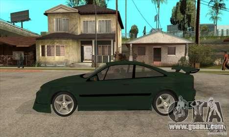 Opel Calibra for GTA San Andreas left view