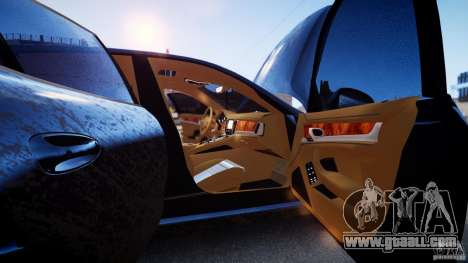 Porsche Panamera Turbo 2010 Black Edition for GTA 4 side view