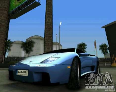 Lamborghini Diablo for GTA Vice City right view