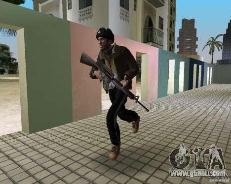 Niko Bellic in ear flaps for GTA Vice City second screenshot